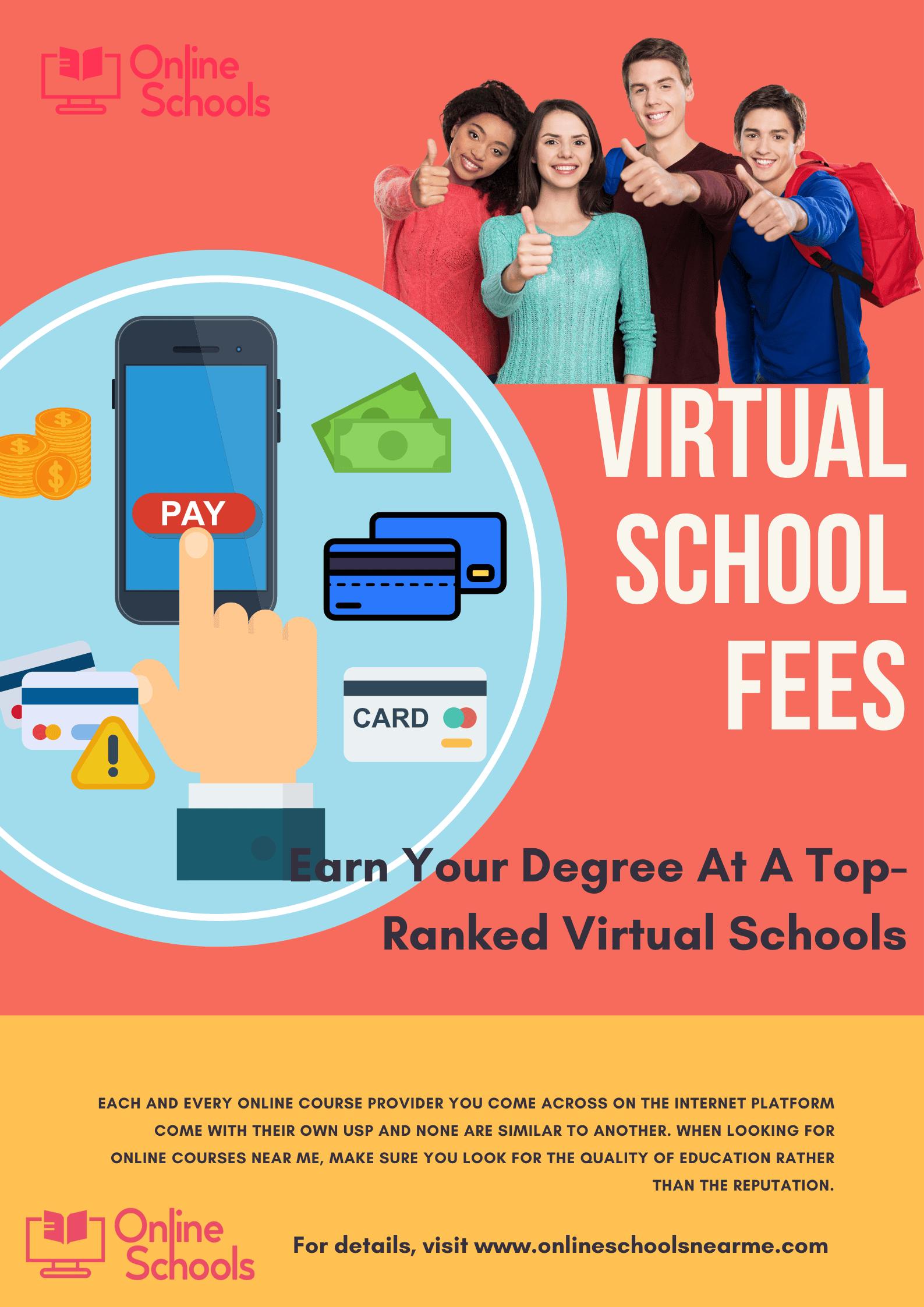 virtual school fees
