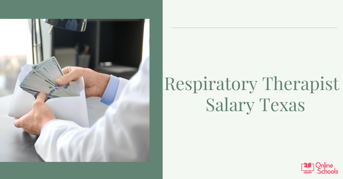 Respiratory therapist salary Texas