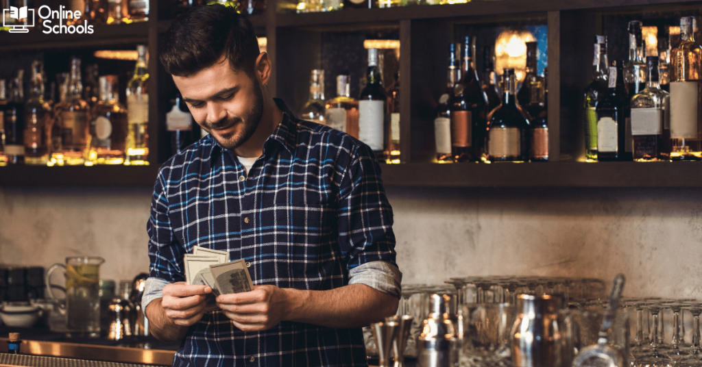 Bartender School Salaries as Per States