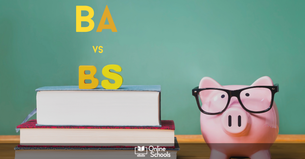 Difference between BA and BS degree