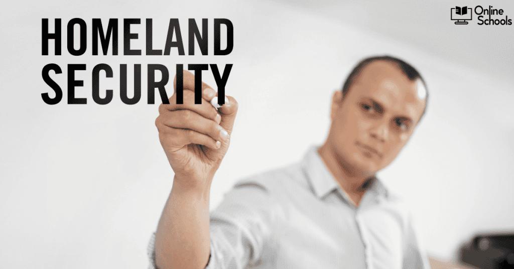 homeland security online degrees