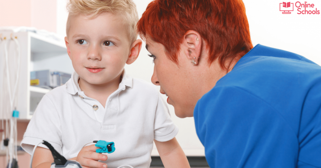 Training for becoming a pediatric nurse
