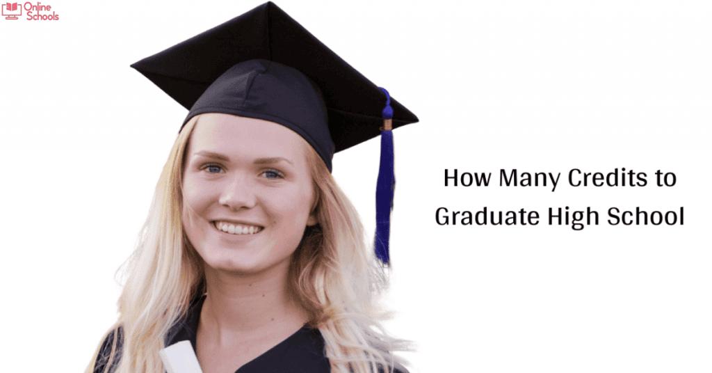 How Many Credits To Graduate High School