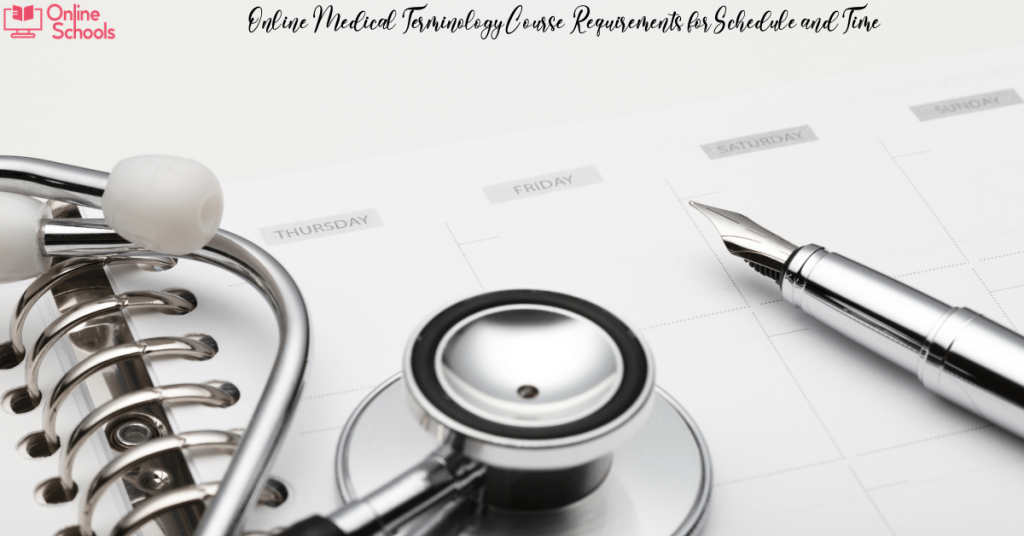 Online Medical Terminology Course Requirements
