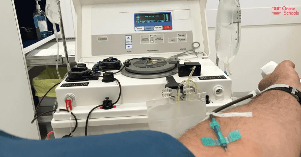 Plasma donation compensation