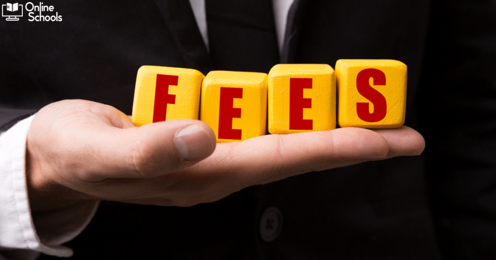 Self paced online college fees