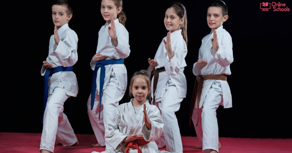 Martial Arts 4 years old